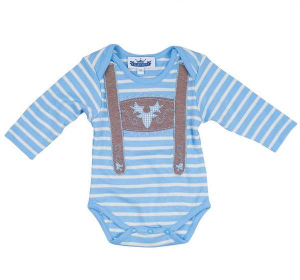 Trachtenbody Baby Body Lederhose mit Hirsch - P. Eisenherz