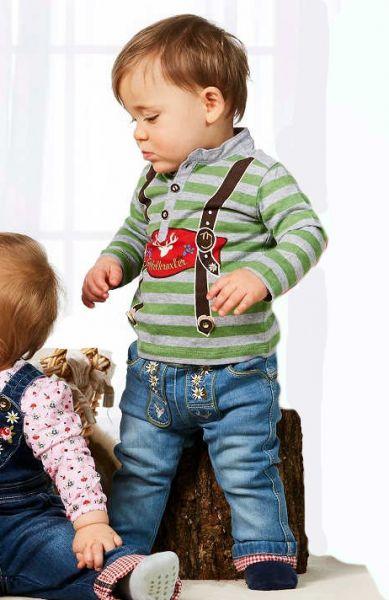 Kinder Trachtenshirt - Baby Trachten Bondi