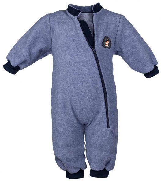 Trachtenstrampler Fleece Overall - Baby Trachtenmode Carlina