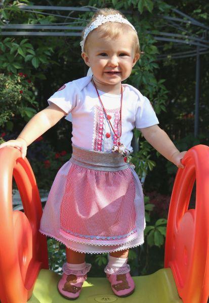 Kindertrachten Baby Tracht Trachtenrock - Babygewand P. Eisenherz