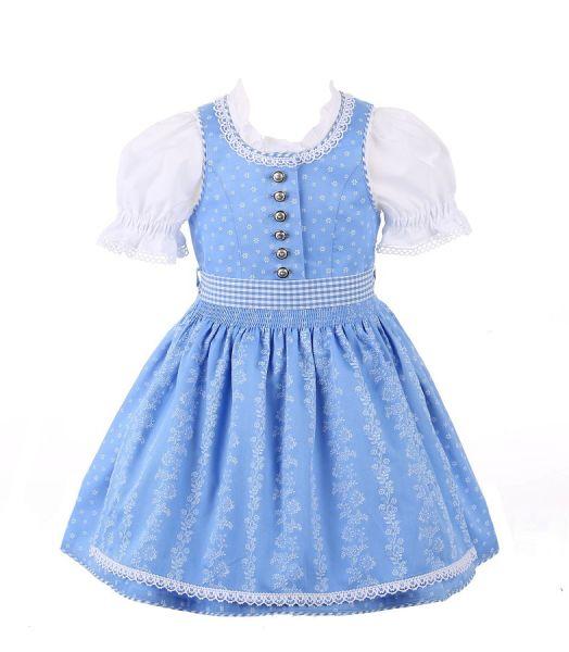Kinderdirndl & Dirndl für Baby & Kleinkinder blau - Country Line