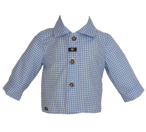 Baby Trachtenhemd Robert - Babygewand Carlina