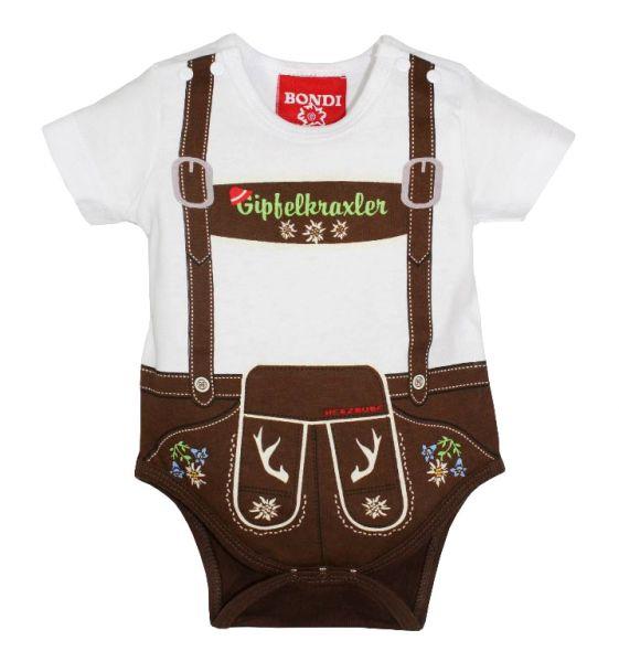 Baby Body Lederhose Konstantin - Baby Lederhose - Bondi