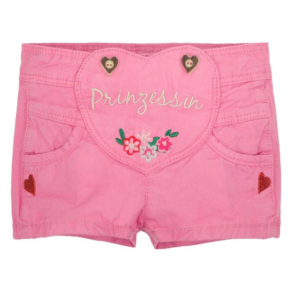 Lederhose für Kinder Mädchen rosa - Kinder Trachten Bondi