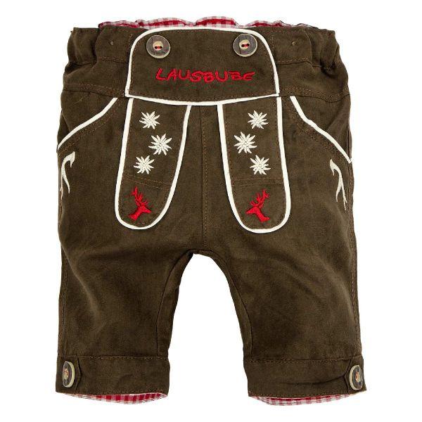 Baby Lederhose und Kinderlederhosen Kniebund - Bondi Kindertrachten