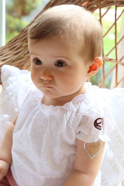 Dirndlbluse Baby - Baby Tracht Bondi