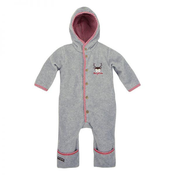 Trachtenstrampler Trachtenoverall aus Fleece - Baby Trachtenmode - Bondi