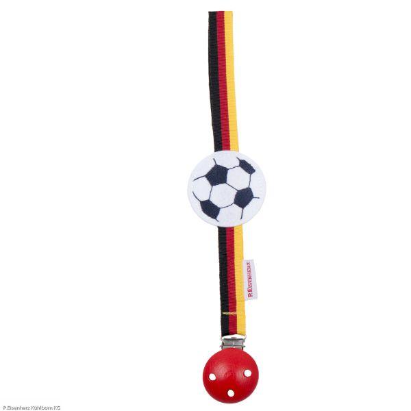 Schnullerband My first WM - Fußball P. Eisenherz