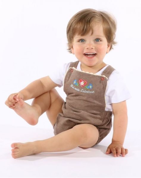 Trachtenstrampler Baby Lederhose - P. Eisenherz