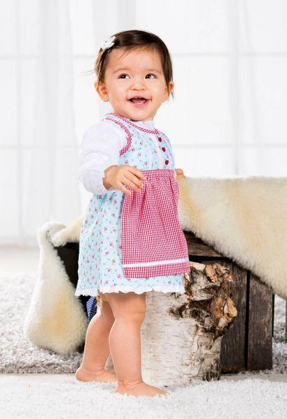 Kinderdirndl Baby Dirndl floral - Trachten Bondi