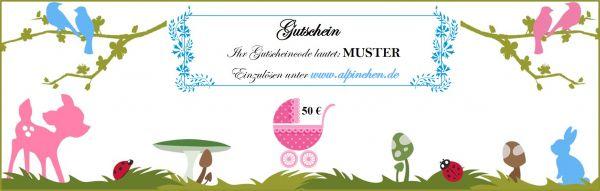 Gutschein (30-300 €)