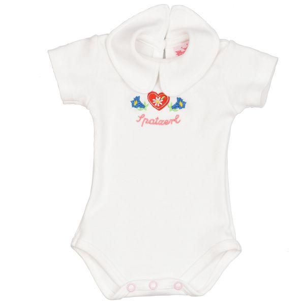 Trachtenbody für Mädchen mit Rundkragen - Baby Tracht P. Eisenherz