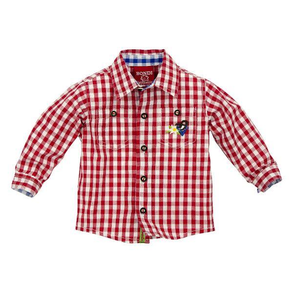 Trachtenhemd Baby Kinder Jungen Bondi