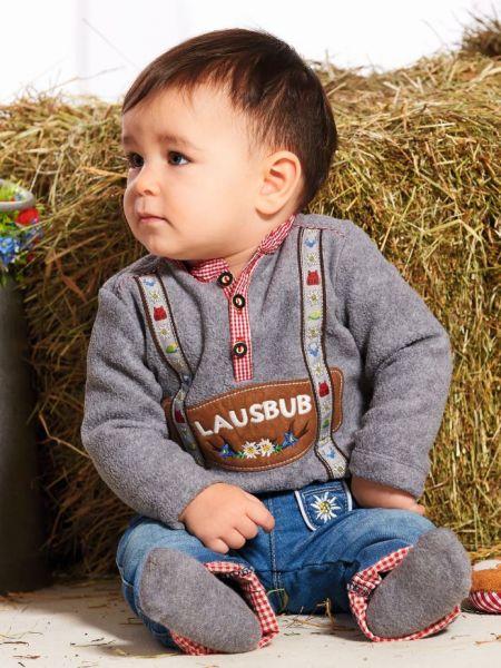 Kinder Baby Lederhose und Trachtenhemd - Bondi Trachten