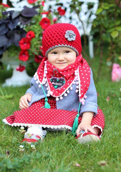 Kinder Baby Trachtenmütze - A Gwond vom Land