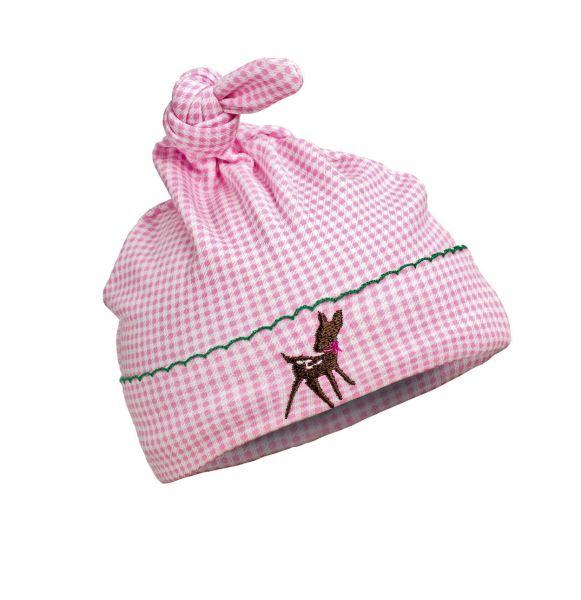 Trachtenmütze Baby - Mädchen rosa - Anouk et Emile