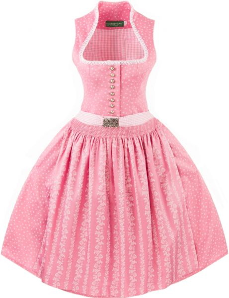 Mutter Tochter Dirndl - rosa - Country Line