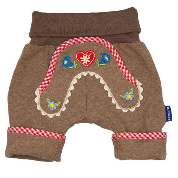 Kurze Baby Kinder Lederhose für Mädchen und Lungen - P. Eisenherz