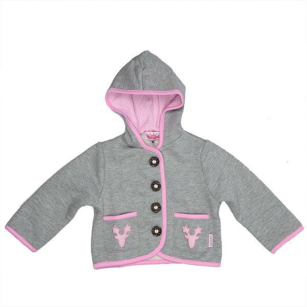 Trachtenjacke für Baby und Kind Mädchen rosa - P. Eisenherz