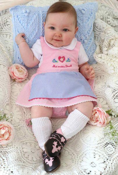 Baby Dirndl Body - Baby Tracht P. Eisenherz