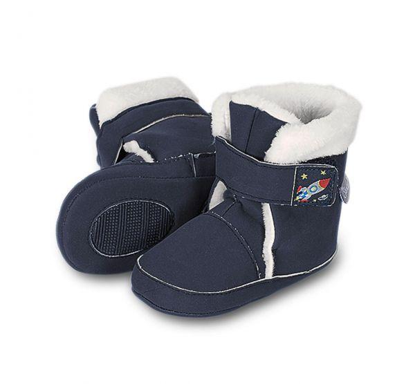 Baby Stiefel blau - Sterntaler
