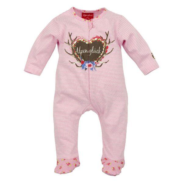 Trachtenstrampler für Mädchen - Baby Overall Bondi