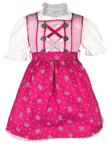 Kinderdirndl Babydirndl günstig rosa - Coala Trachten