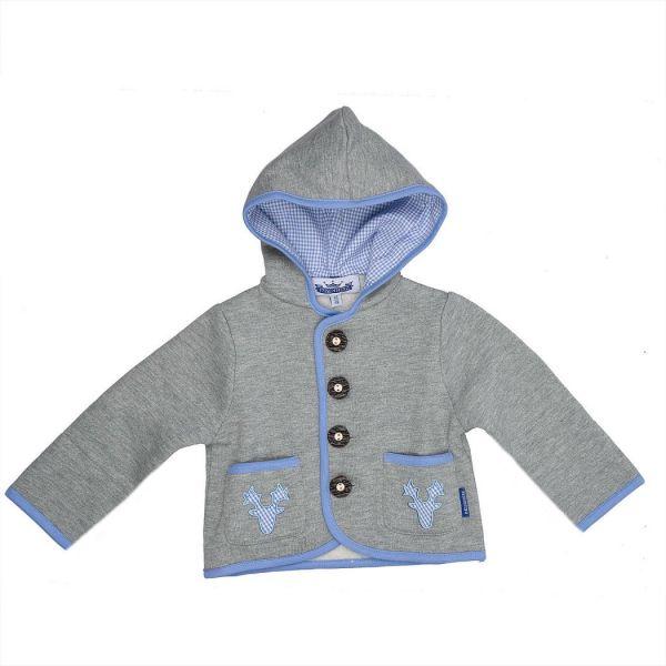 Trachtenjacke für Baby und Kind hellblau - P. Eisenherz