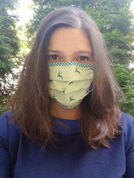 Mund Nasen Masken Erwachsene Hirsch - P Eisenherz