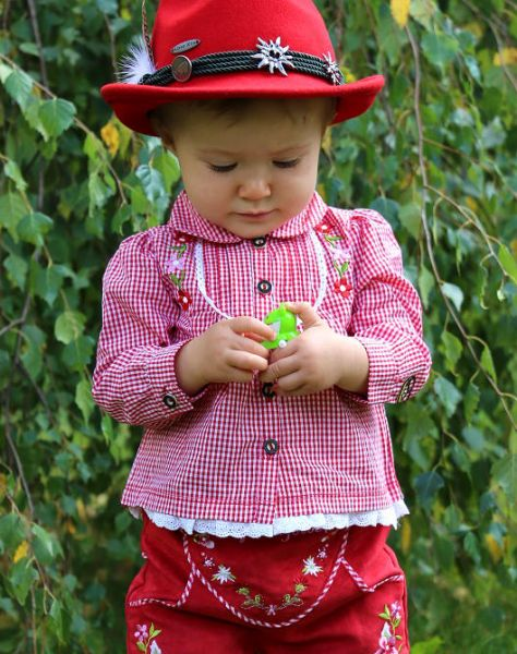 Baby & Kinder Trachtenmode Dirndlbluse - Bondi