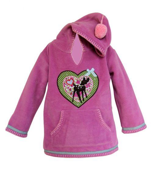 Fleecepullover Trachtenjacke für Mädchen - Anouk et Emile