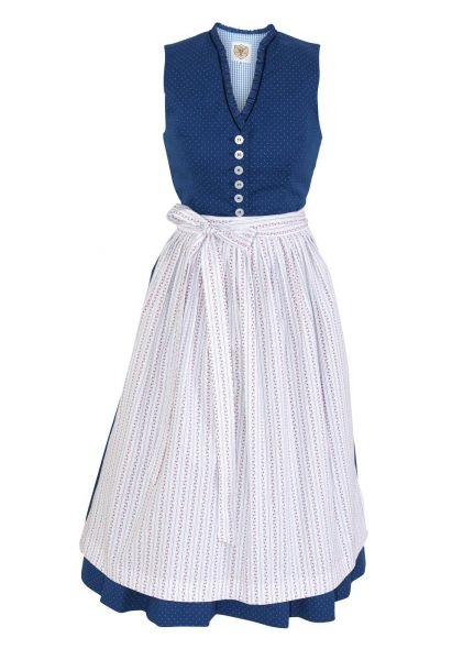 Traditionelles Mutter Kind Dirndl blau - Berwin & Wolff
