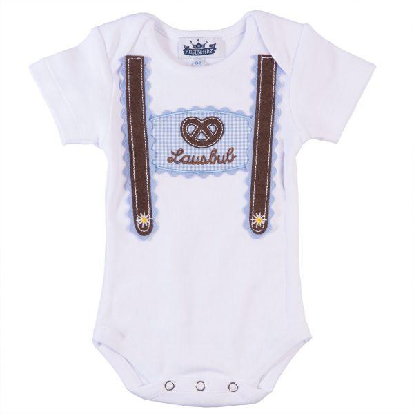 Trachtenbody & Baby Body Lederhose - Baby Tracht P. Eisenherz