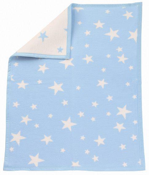 Babydecke blaue Sterne - Julius Zöllner