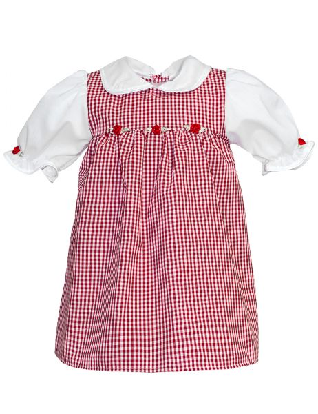 Trachtenkleid Baby Rosemarie - Baby Tracht Carlina