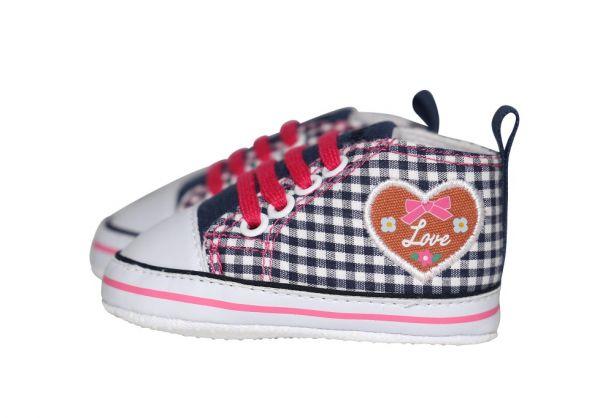 Baby Trachtenschuhe für Mädchen - Baby Sneaker Playshoes