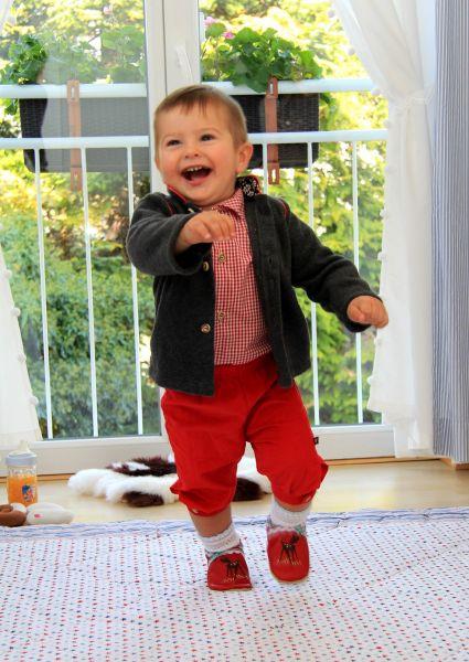 Baby Tracht Lederhose Knickerbocker - Carlina