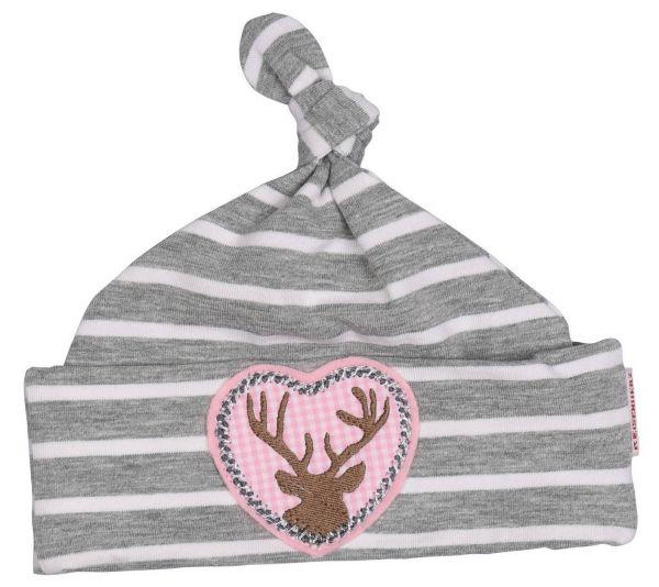 Trachtenmütze Trachtenhut Baby rosa Mädchen - Baby Tracht P. Eisenherz