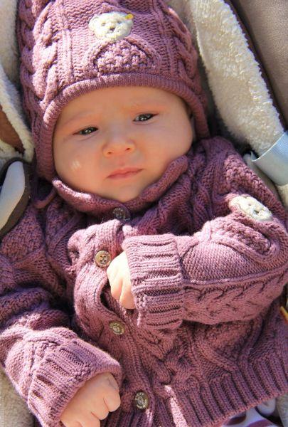 Steiff Baby Jacke und Mütze - Sunday Rose