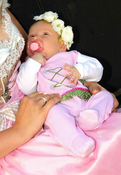 Trachtenstrampler Baby Trachtenmode Dirndl Strampler